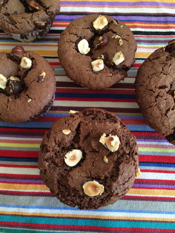 Muffins chocolat cafe