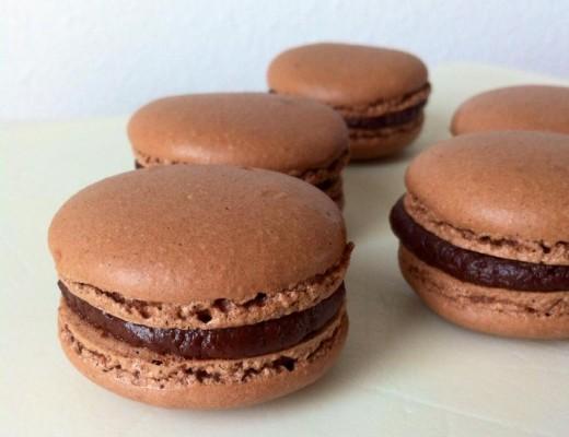 Macaron Chocolat Tonka
