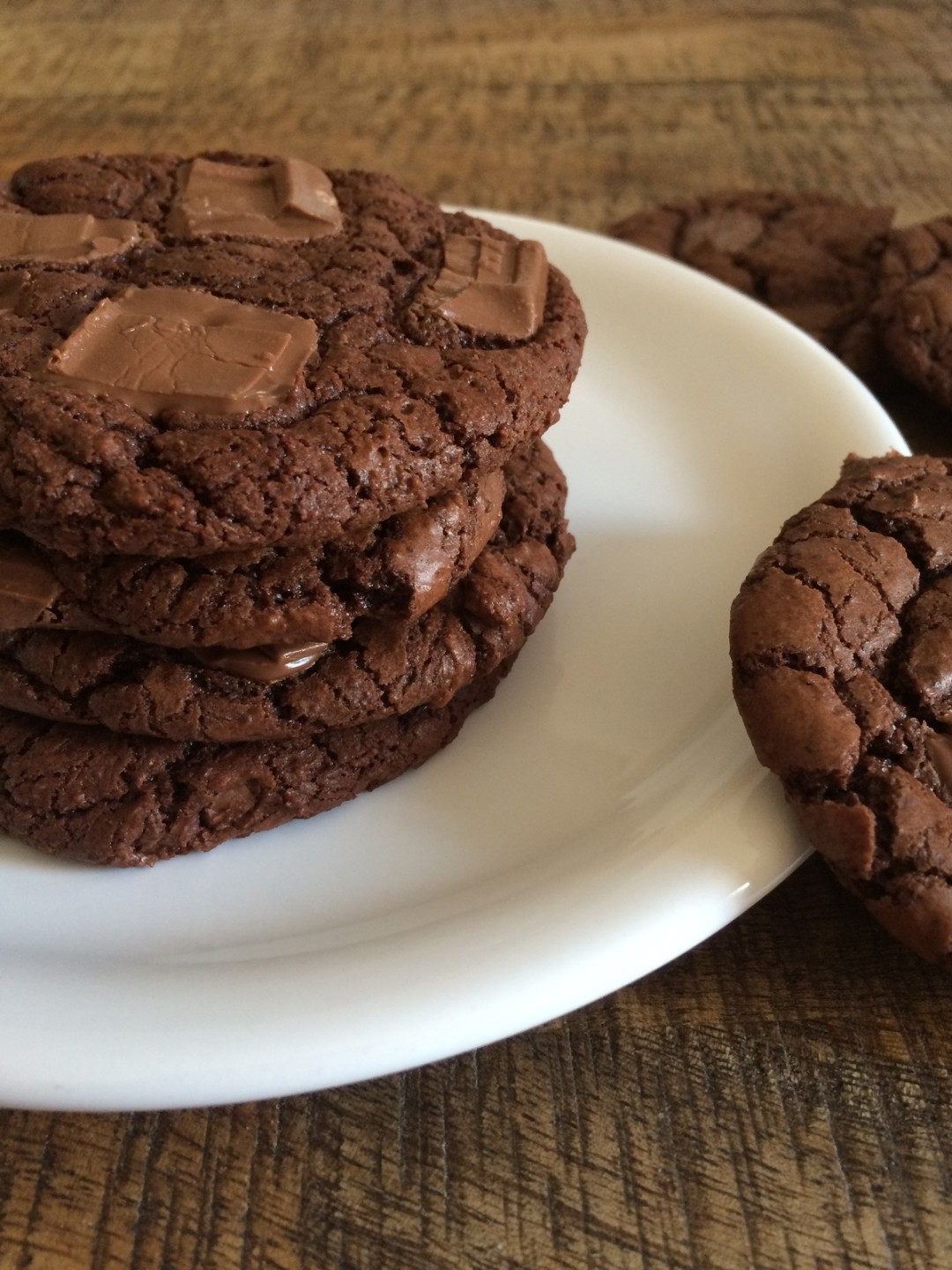 Outrageous chocolate cookie