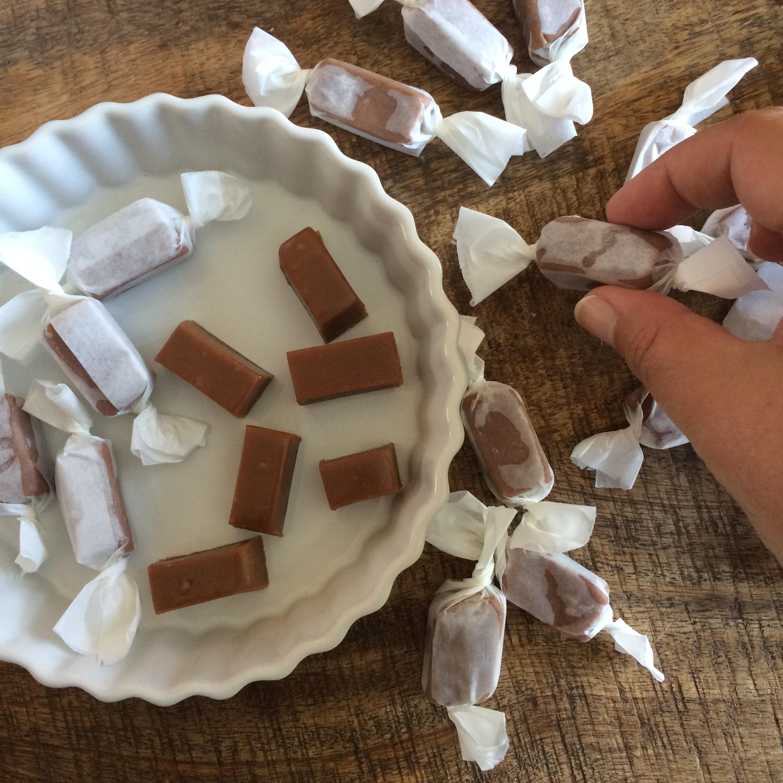 Caramels mous au chocolat 2