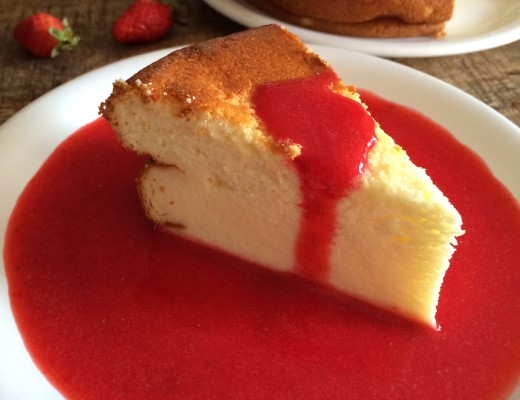 Cheesecake au fromage blanc1