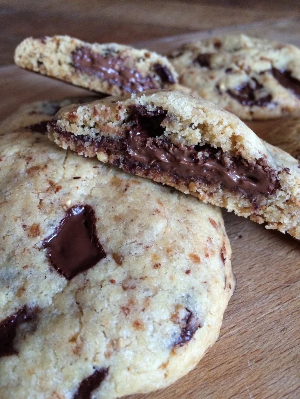Cookies coeur Nutella 1