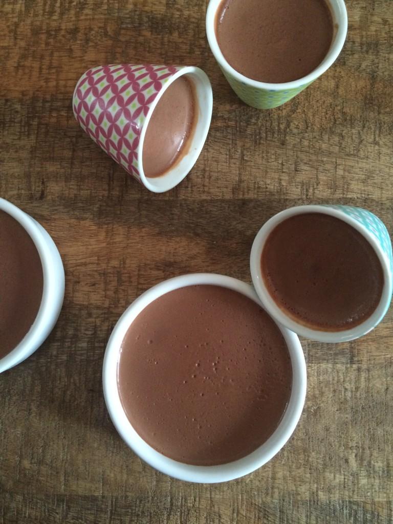 Crèmes au chocolat de Bernard