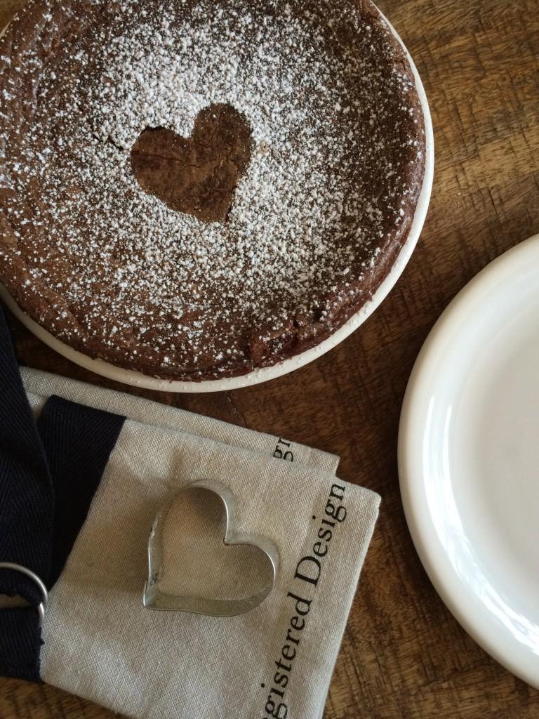 Fondant chocolat – crème de marron