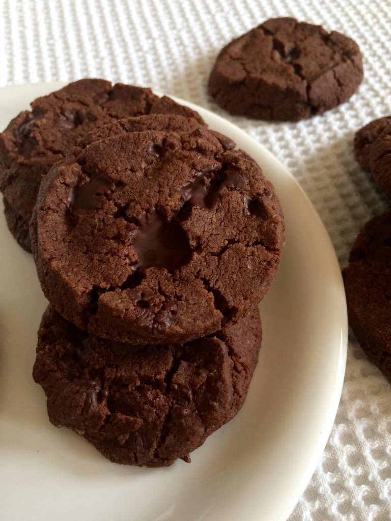 Sablés chocolat noir & fleur de sel