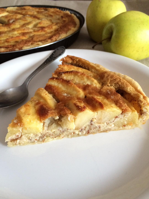 Tarte aux pommes et amande 2