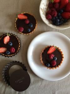 Tartelette au chocolat praline 2