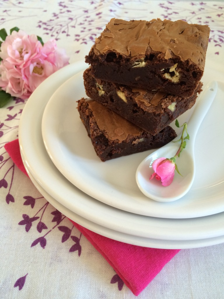 Brownies pépites chocolat blanc