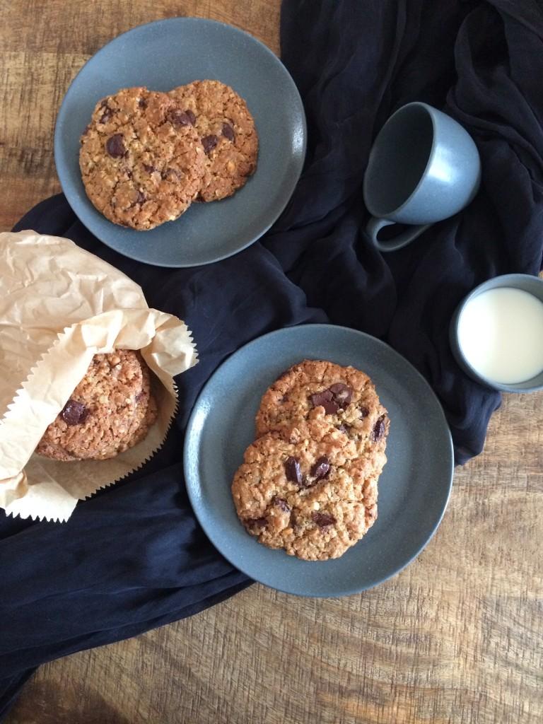 Cookies flocons d'avoine et beurre de cacahuètes