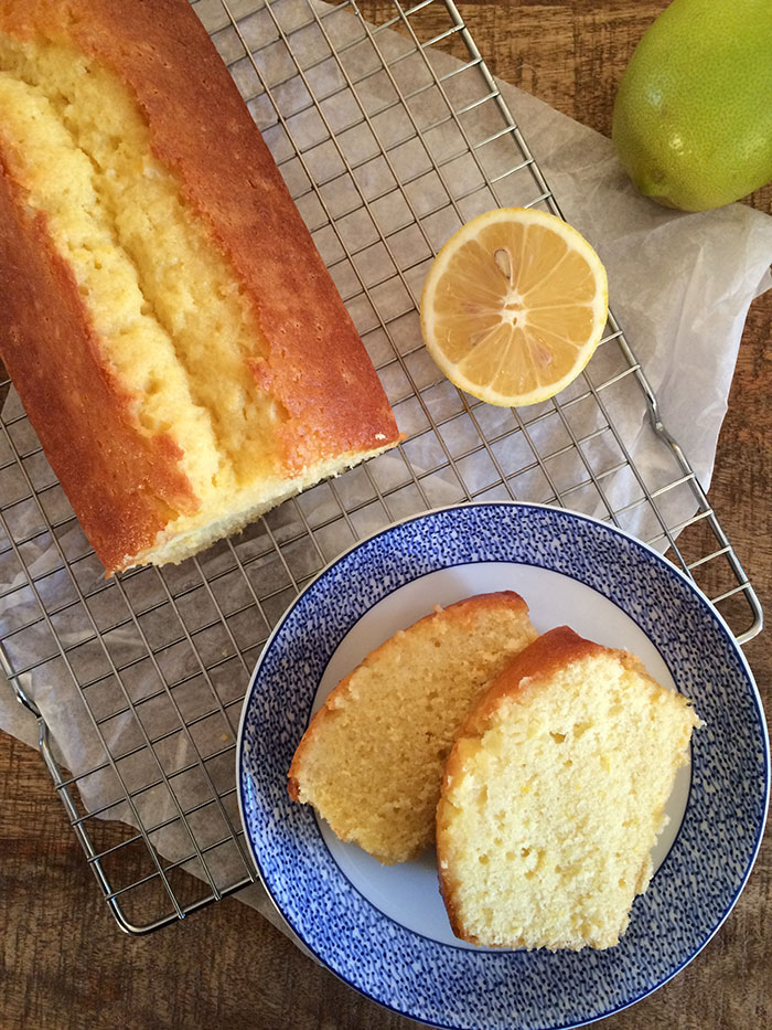 Cake Financier Citron