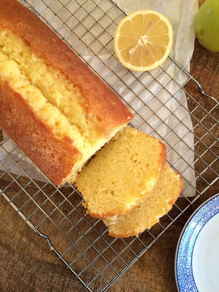 Cake au citron de Felder & Lesecq