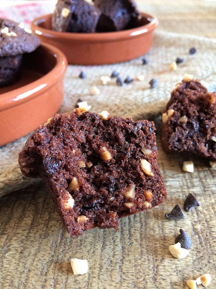 Muffin-chocolat-cacahuetes-3