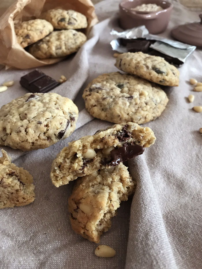 Cookies aux graines et au chocolat