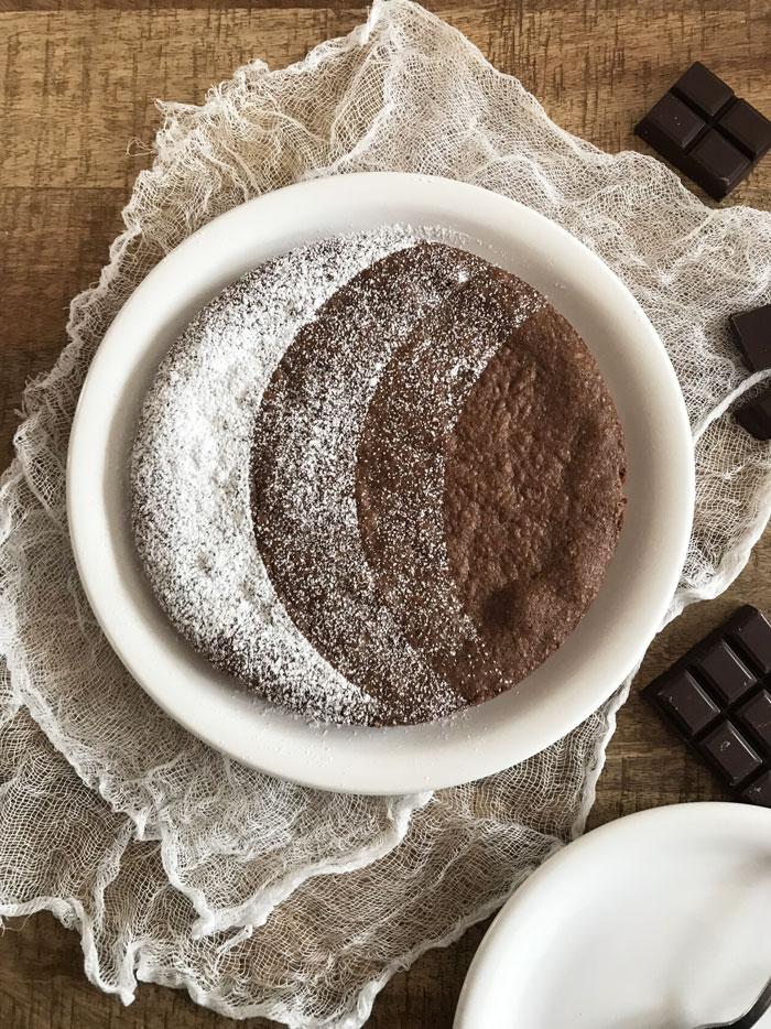 Fondant au chocolat de Michel et Augustin