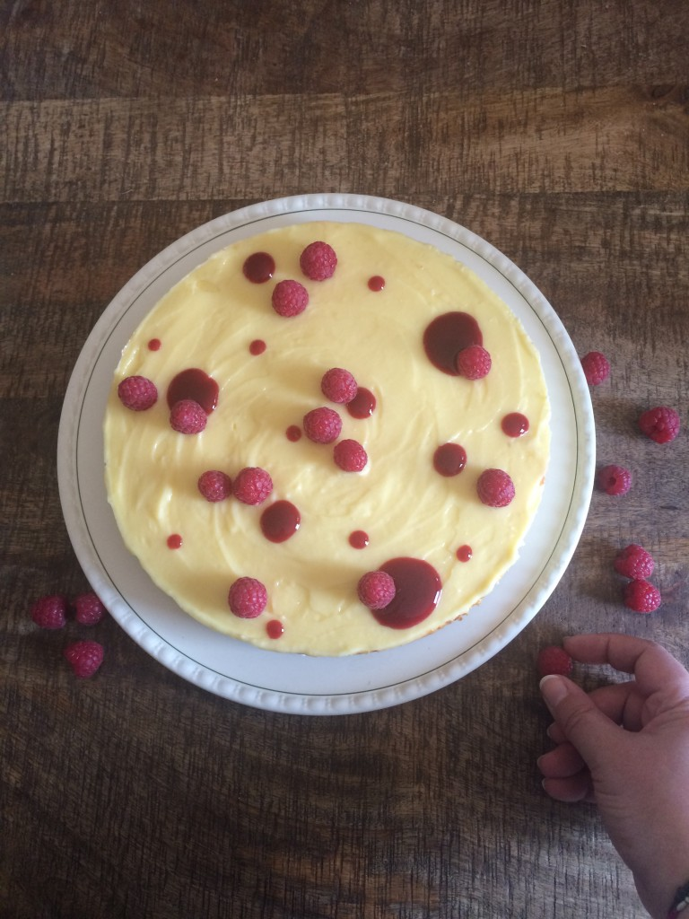 Cheesecake au lemon curd