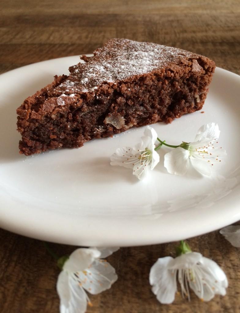Moelleux chocolat amande