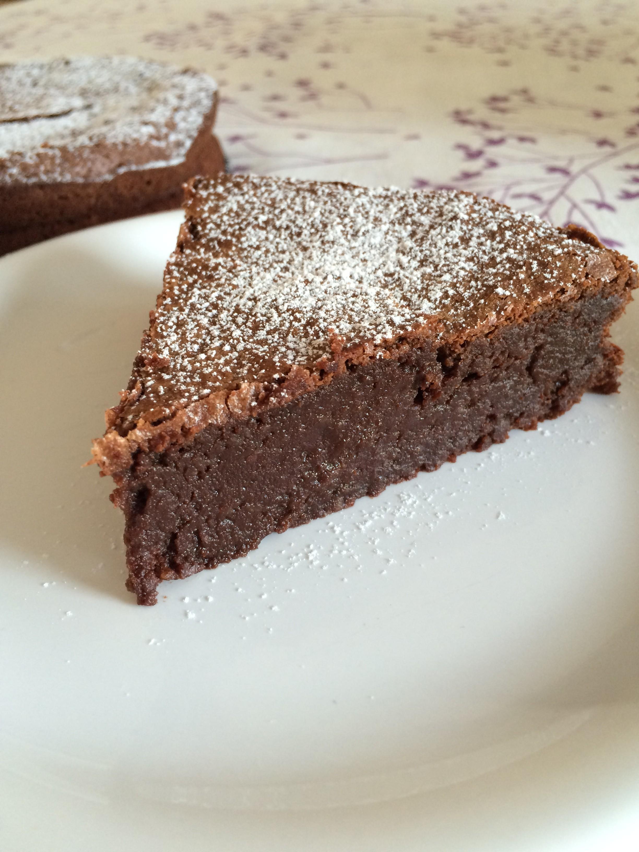 Fondant au chocolat Valrhona