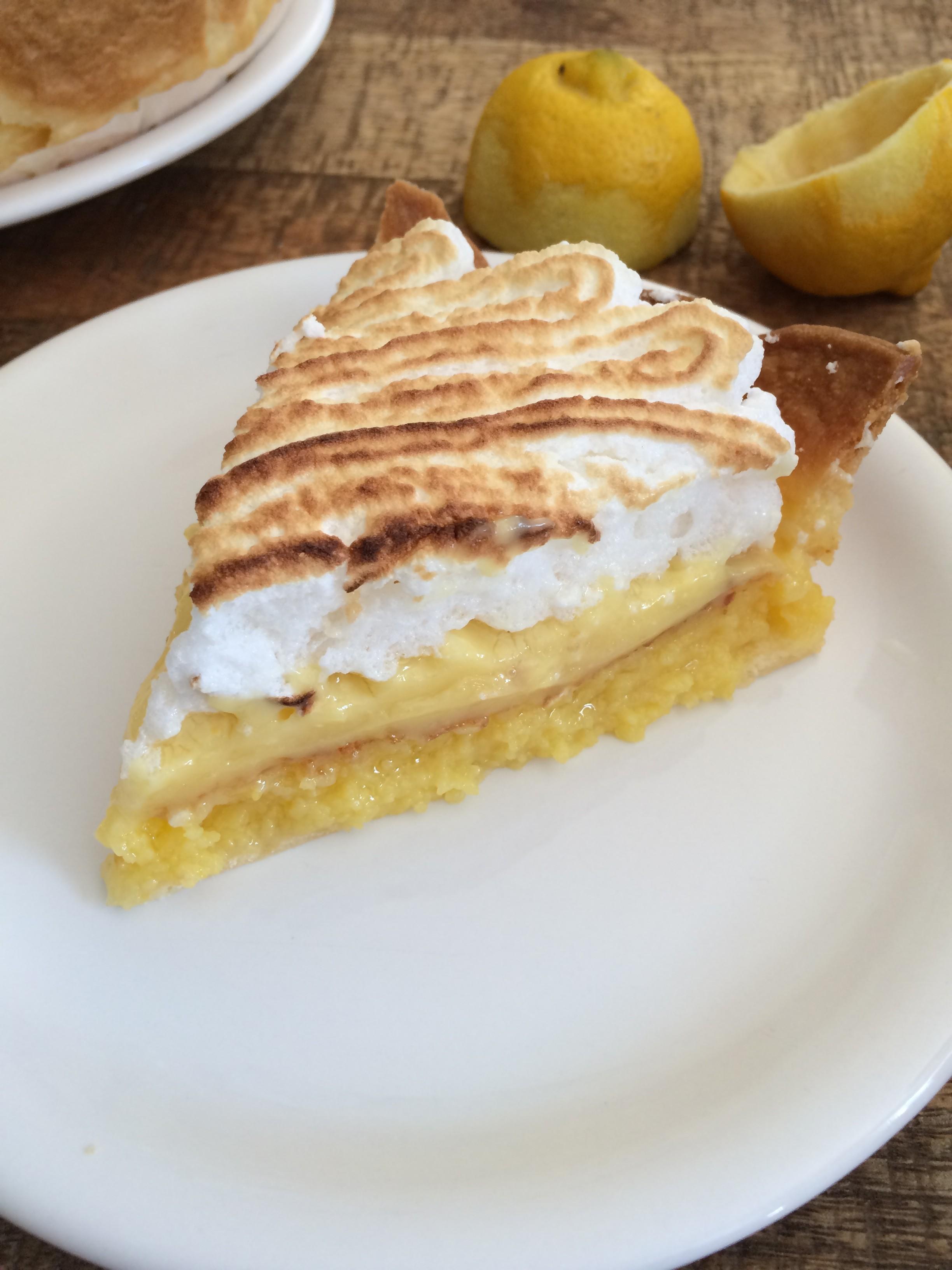 Tarte double citron