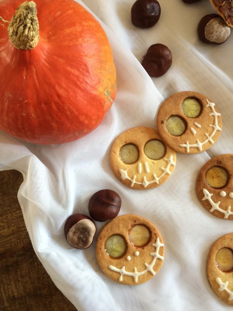 Biscuits zombie d'Halloween