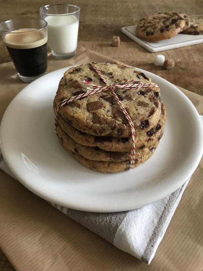 Cookies aux 2 chocolats de Cyril