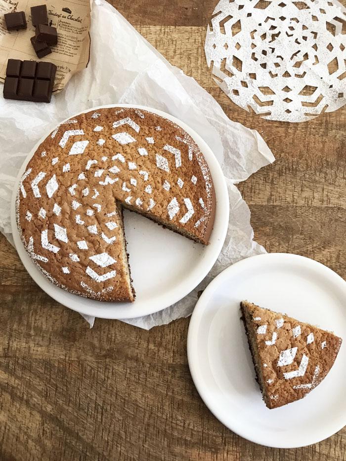 Gâteau de Metz au chocolat